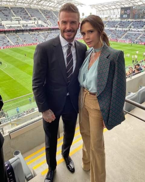 Les amoureux David et Victoria Beckham ont soutenu l'Inter Miami, club de foot de monsieur.