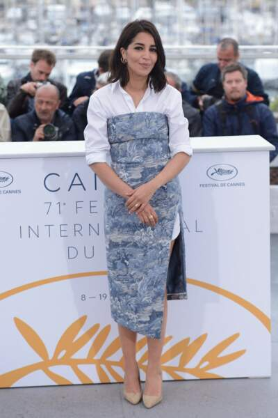"""Pour la présentation du film """"Le grand bain"""" à Cannes en mai 2018"""