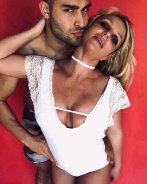 C'était chaud entre Britney Spears et son chéri Sam Asghari.