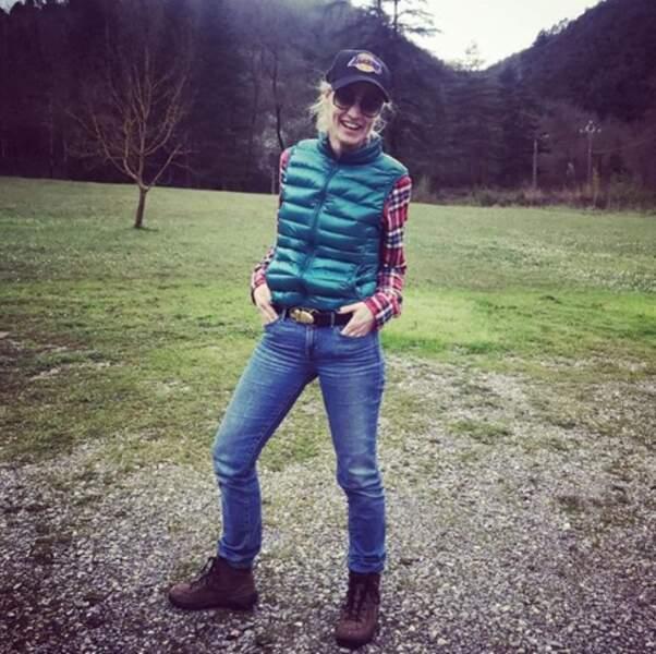 Ambiance Texas pour Alexandra Lamy dans le Gard.