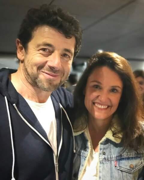 Il faut savoir que la sexologue est aussi une fan dans la vraie vie. Il y a quelques mois, elle a réalisé son rêve : assister au concert de Patrick Bruel au Palais des sports de Paris.