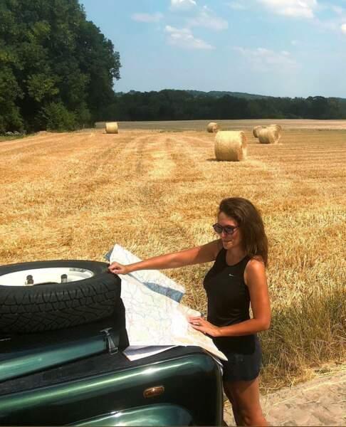 Alexandra Hubin aime l'aventure et se laisse surprendre par des road trips en pleine campagne.