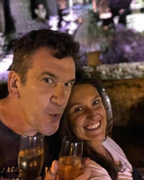 Son amoureux est Vincent Taloche, un humoriste, Belge comme elle, avec qui elle s'affiche sur les réseaux sociaux.  C'est sur Facebook qu'ils avaient annoncé leur relation.