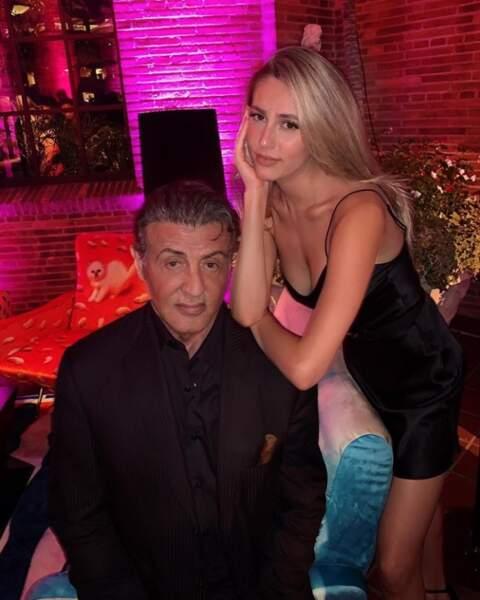 Tandis que chez les Stallone, on resserre les liens père-fille