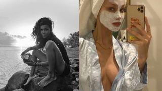 Instagram : Shy'm à la plage et Bella Hadid dans sa salle de bain (PHOTOS)