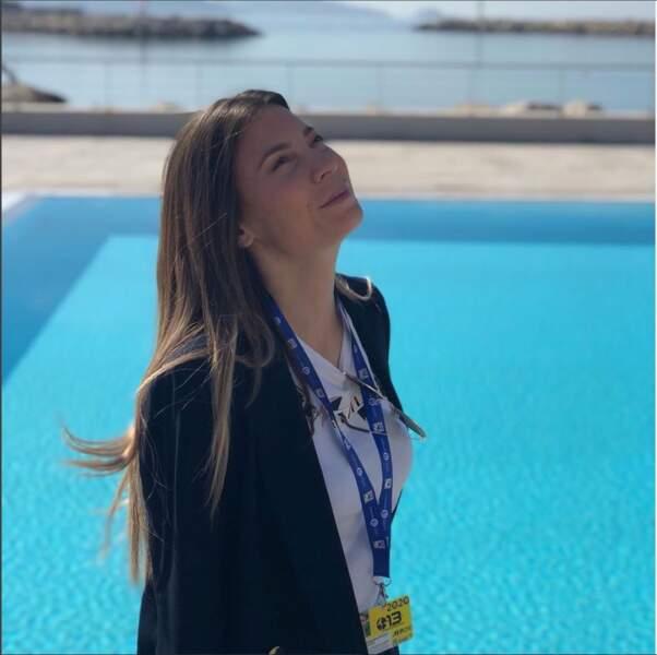 La piscine, c'est pas pour tout de suite, place au travail pour Alexandra Roost !