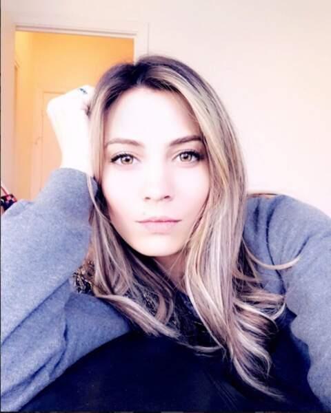 Alexandra Roost est une habituée aux selfies.