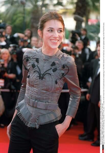 Guerrière chic et corsetée de broderies, à Cannes, pour ses 30 ans