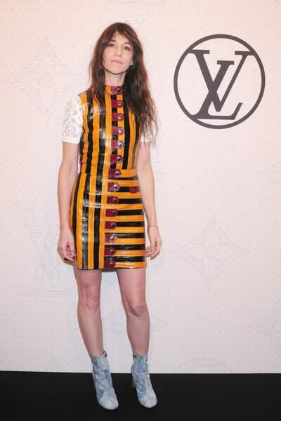 Reine des abeilles le temps d'une soirée Louis Vuitton à New York
