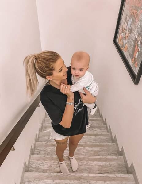 Jessica a publié une jolie photo mère/fils
