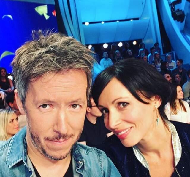 Géraldine Maillet et Jean-Luc Lemoine se sont retrouvés plusieurs fois sur le plateau de TPMP.