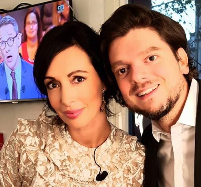 Géraldine Maillet et Greg Guillotin se retrouvent souvent dans les locaux de C8.