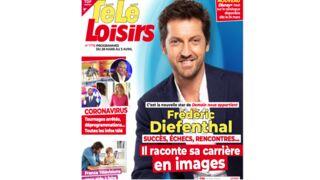 A la une de Télé-Loisirs : Frédéric Diefenthal, la nouvelle star de Demain nous appartient, raconte sa carrière en images…