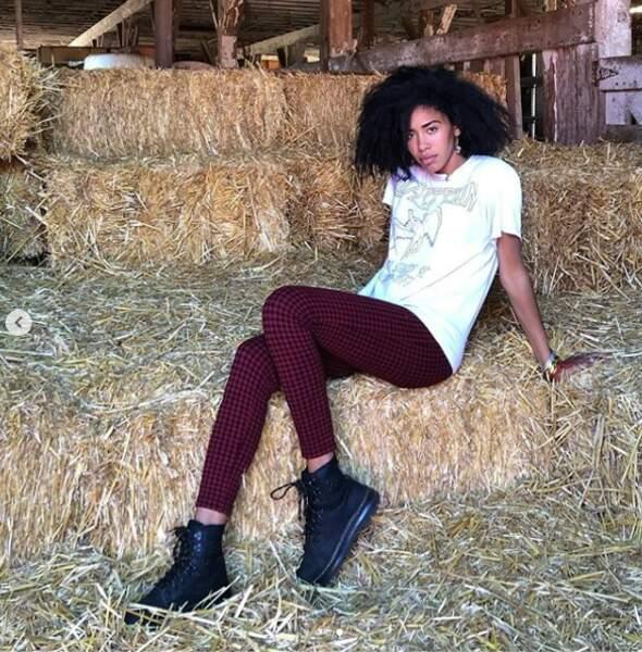 Elle fait même des pauses dans des fermes...
