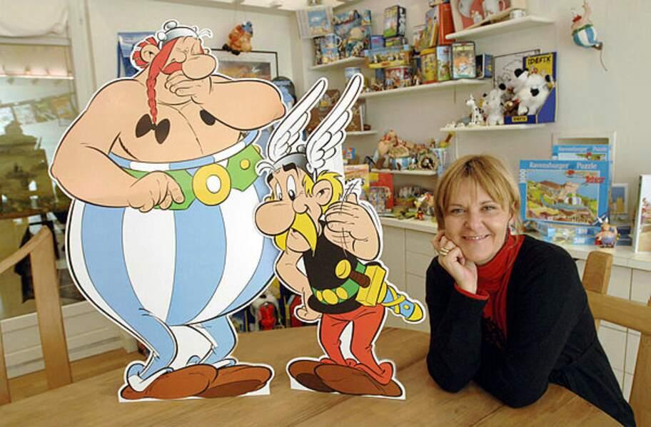 Elle est un temps directrice des éditions Albert-René, qui publie Astérix et l'œuvre de Goscinny et Uderzo.