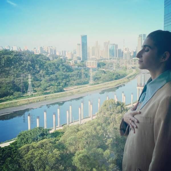 Quand elle ne tourne pas, Alba aime bien partir en voyages. Ses destinations fétiches ? Le Brésil...