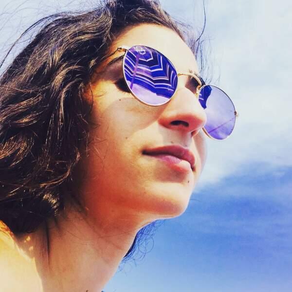 Et des bleus quand il faut se protéger du soleil. Bref, elle adoooooore changer !