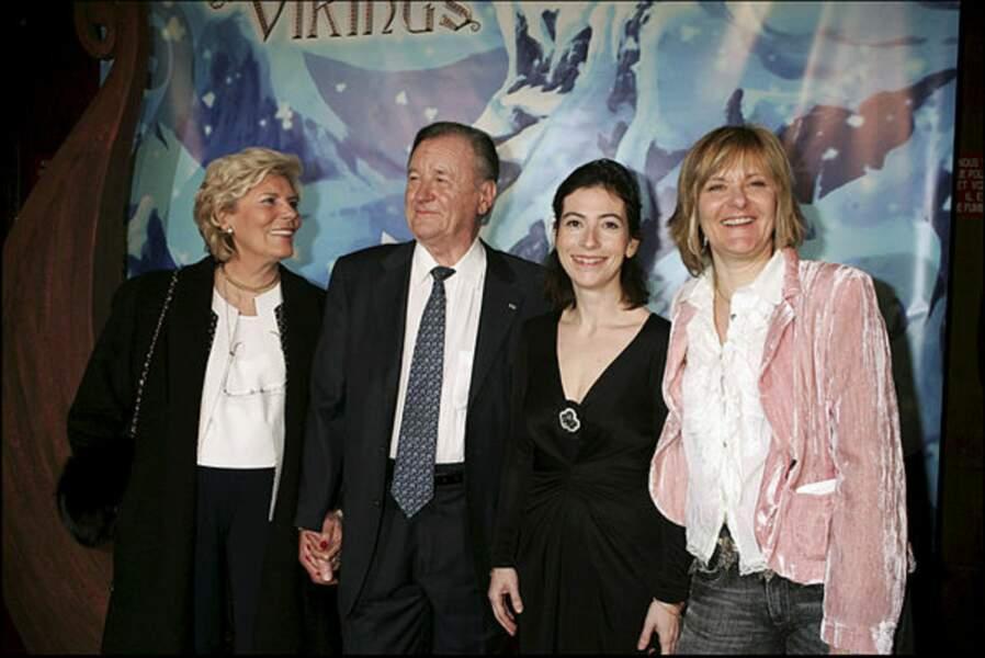 Une belle photo de famille, prise en 2006 à l'avant-première d'Astérix et les  Vikings.