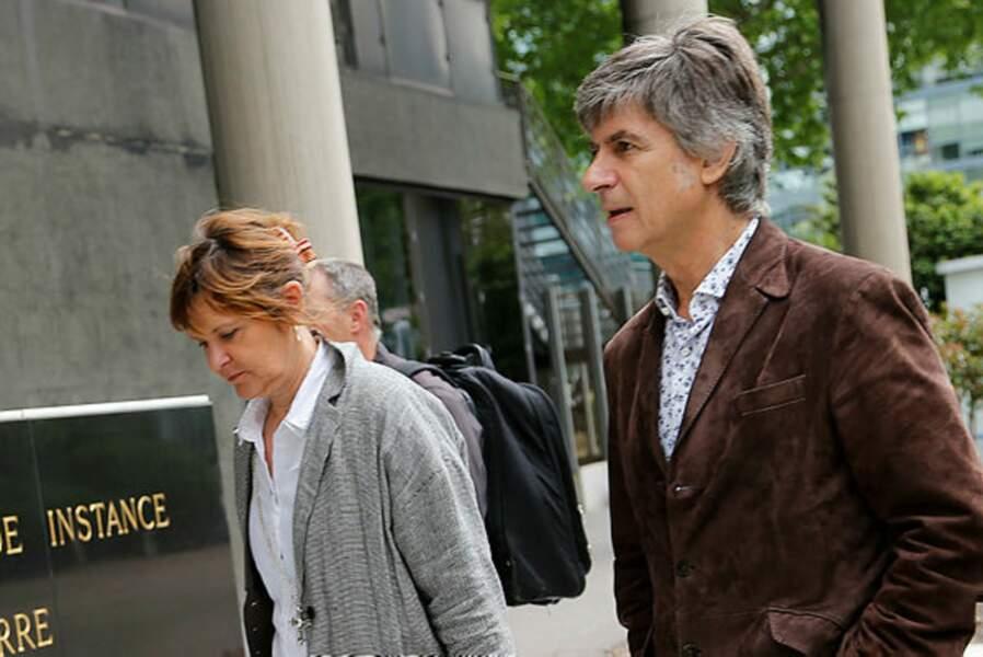 La voici avec son mari, Bernard de Choisy, lui aussi ancien collaborateur d'Albert Uderzo, remercié.