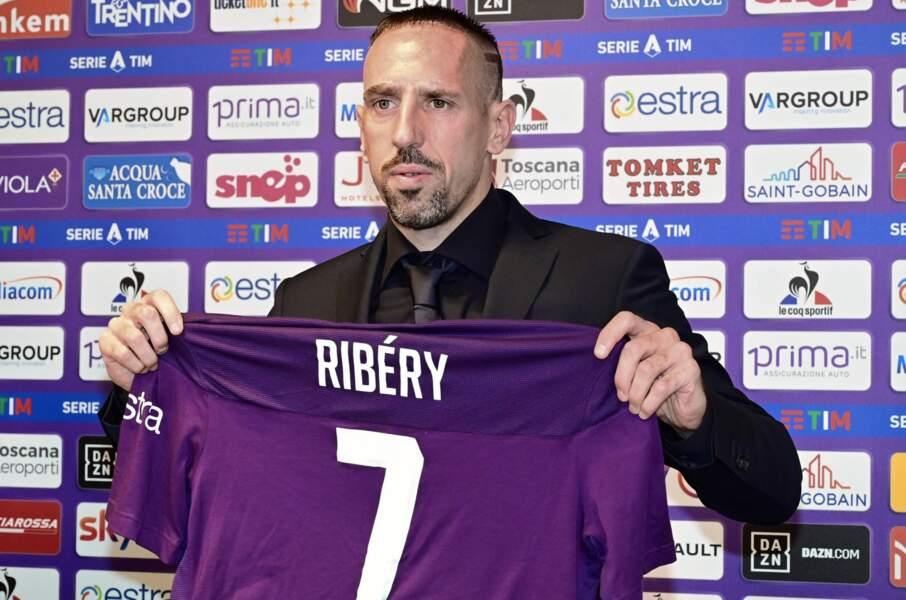 Franck Ribery, joueur de la Fiorentina de Florence a offert 50 000 euros aux hôpitaux italiens