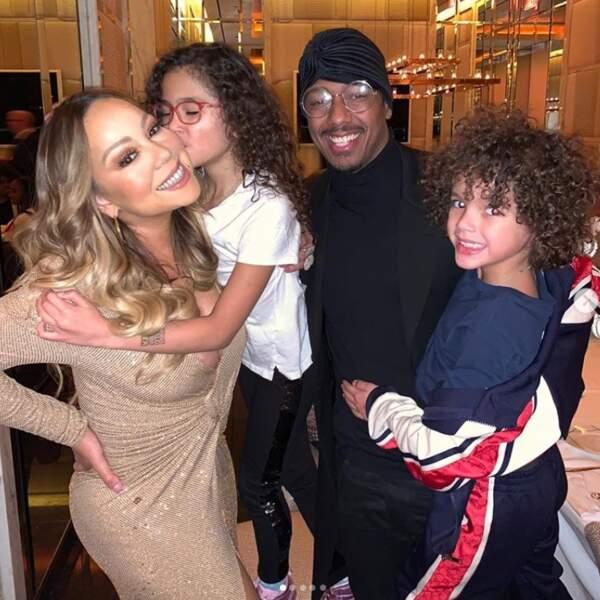 Mais Mariah Carey est aussi une maman comblée de jumeaux, nés de ses amours avec Nick Cannon.