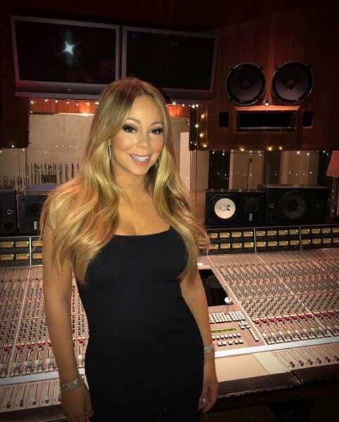 Quand elle ne s'occupe pas d'eux, elle file en studio.