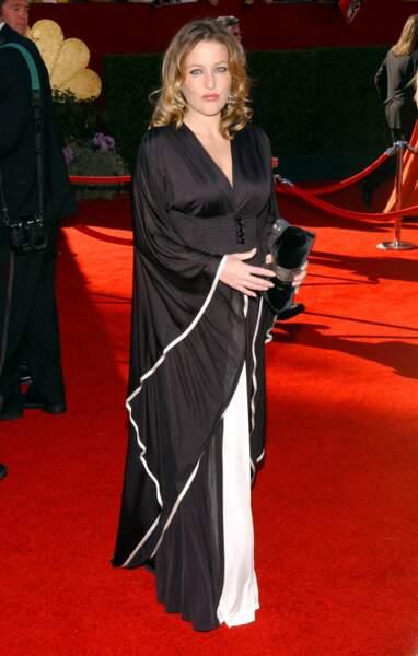 Très glamour aux Emmy Awards en 2006, Gillian est alors enceinte de son deuxième enfant.