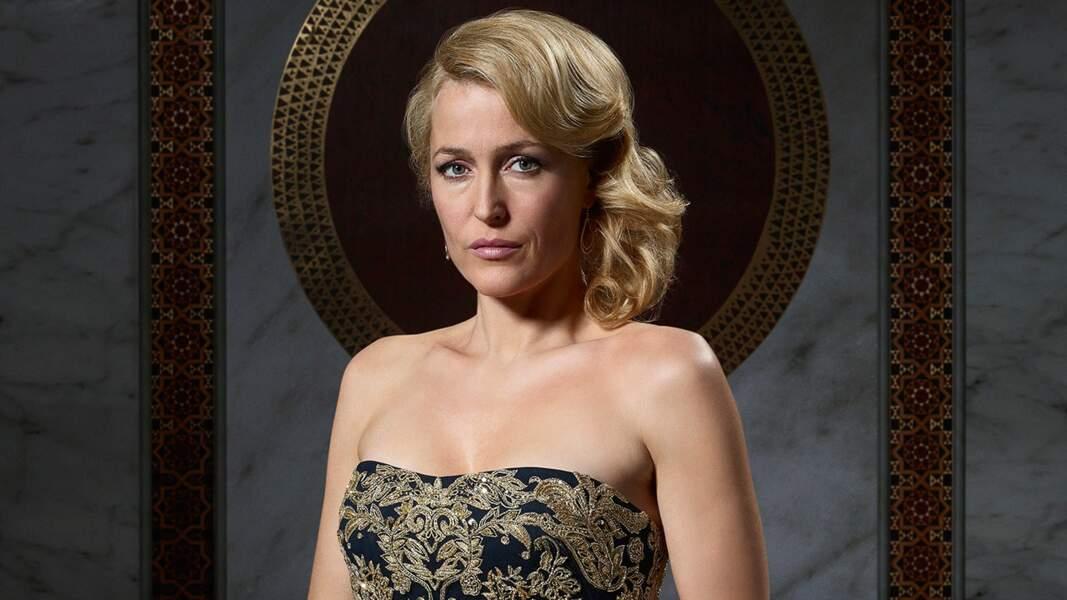 2013, elle revient au petit écran aux côtés de Mads Mikkelsen dans la série Hannibal