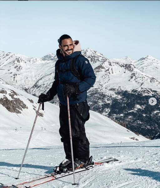 Il adore aussi faire du ski
