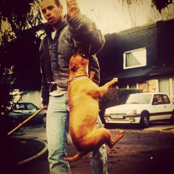 Avant de devenir un acteur-réalisateur à succès, Franck Gastambide était dresseur de chiens.