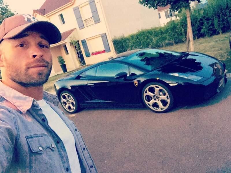 Les voitures, une passion pour Franck Gastambide