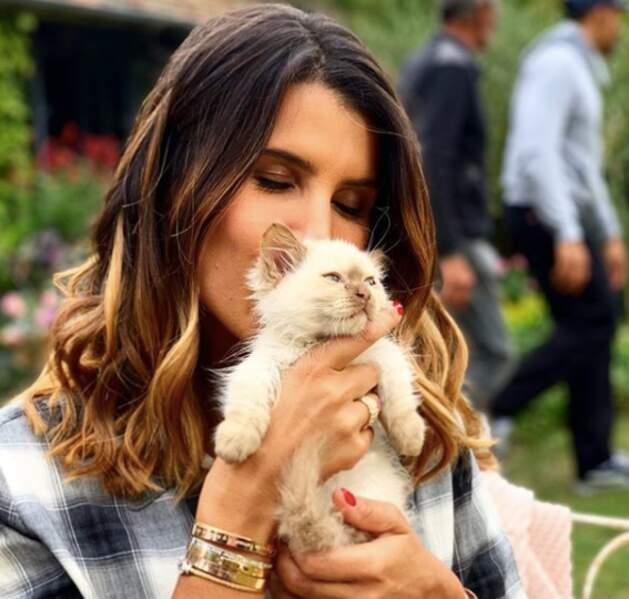 Karine Ferri adore les animaux