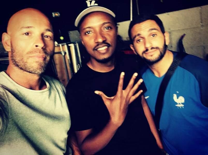 Avec Soprano et Malik Benthala