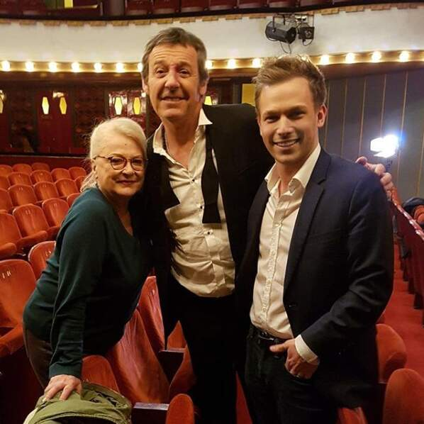 ... ou encore Jean-Luc Reichmann et Josiane Balasko au théâtre.