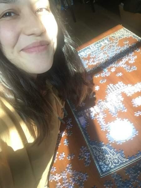 Jade aura-t-elle le temps de finir son super puzzle 1000 pièces ?
