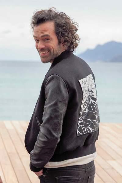 Cédric a vu Romain grandir et interpréter des personnages romantiques et populaires. Ici à Cannes en 2019
