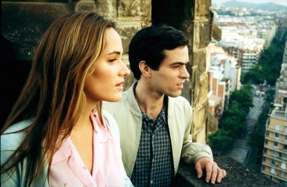 """Anne-Sophie (Judith Godrèche) n'est pas étudiante mais elle accueille un temps Xavier (Romain Duris) dans """"L'auberge espagnole""""."""