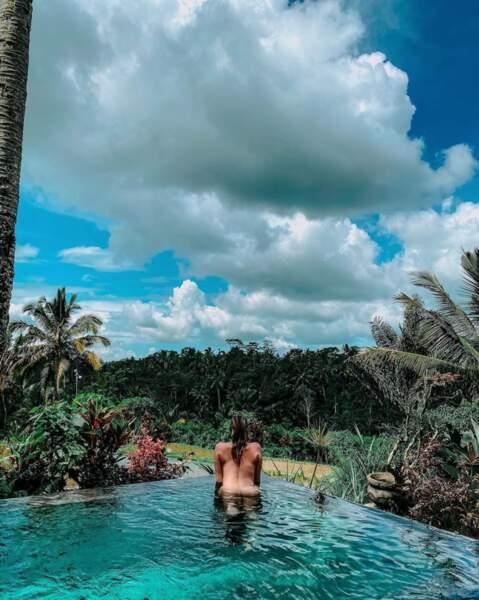 Leslie Dasc, nostalgique, publie une photo d'elle nue dans une piscine...