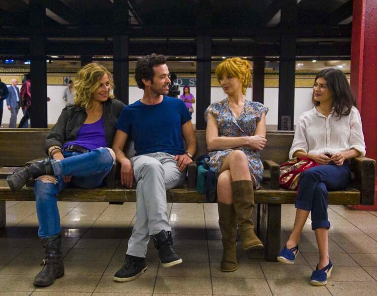 """Equipe réduite pour la troisième partie de la saga, celle-ci se passant à New-York (""""Casse-tête chinois"""", 2013)"""