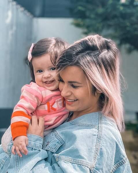 Carla Moreau (Les Marseillais) fête les 6 mois de sa fille Ruby