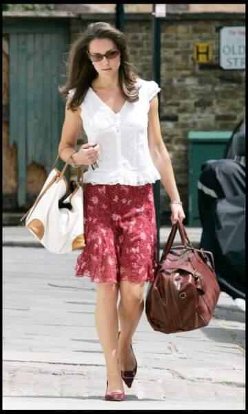 Emploi du temps chargé pour la Kate londonienne (juin 2006)