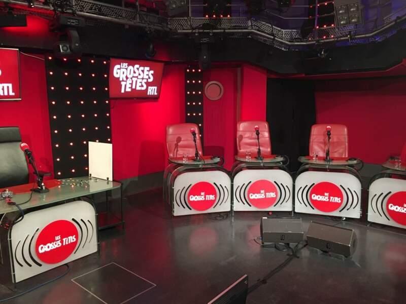 … et sa participation aux Grosses têtes, la mythique émission de radio animée par Laurent Ruquier sur RTL.