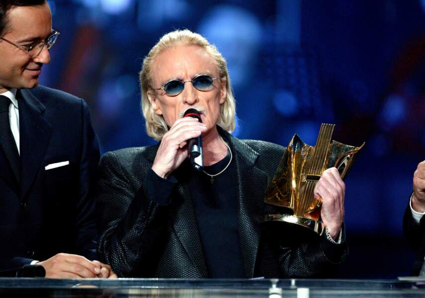 Première récompense de sa carrière aux Victoires de la musique, en 2003 .