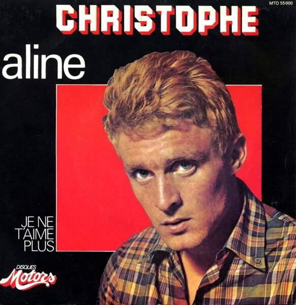 """Sa chanson """"Aline"""" est un succès international, avec plus d'un million de disques vendus."""