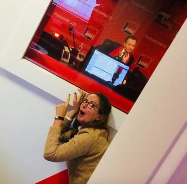 La journaliste et humoriste Charline Vanhoenacker, qui officie actuellement sur France Inter, est née à La Louvière, en Belgique
