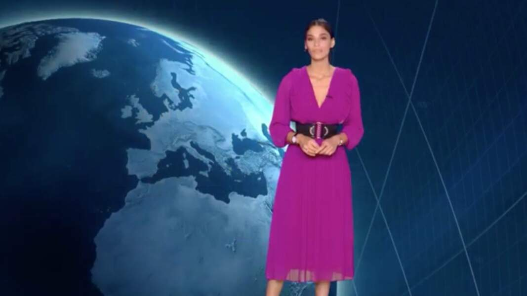 La présentatrice météo de TF1 Tatiana Silva est belge