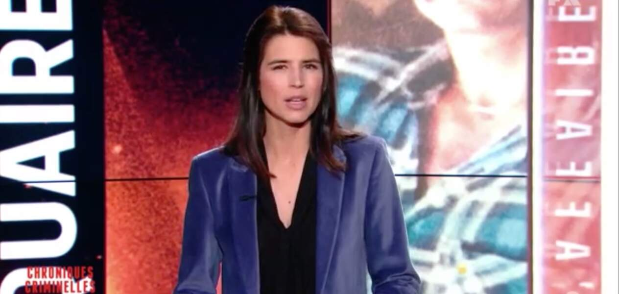 Julie Denayer, qui présente Chroniques criminelles sur TFX, est belge