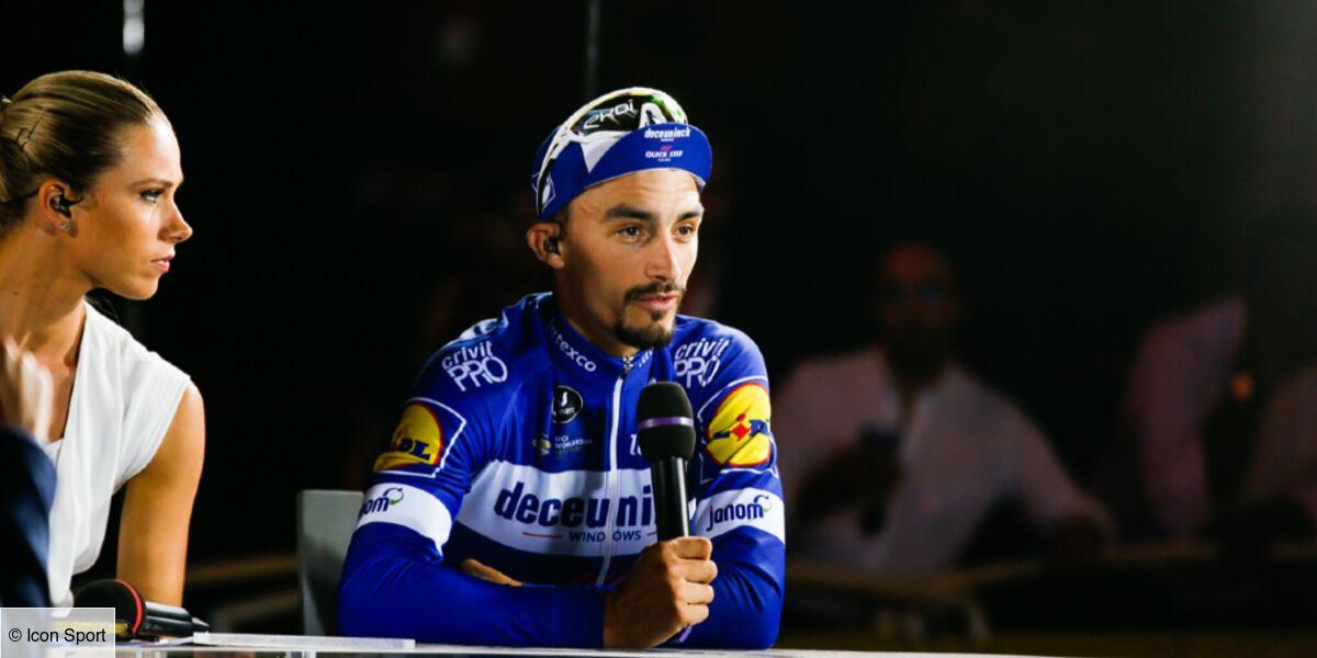 Julian Alaphilippe Le Champion Cycliste En Couple Avec Marion Rousse Il Officialise