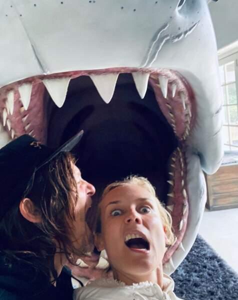 Diane Kruger et son chéri Norman Reedus ont tenté un remake des Dents de la mer.