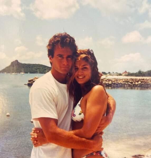 Et Cindy Crawford s'est replongée en 1994, lors de son premier voyage en amoureux avec son futur mari Rande Gerber.